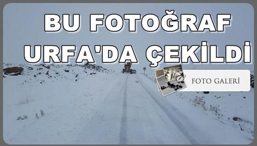 Urfa'da onlarca köy yolu ulaşıma kapandı