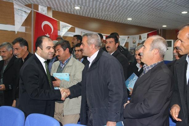 Başkan Çiftçi'den Halfeti'ye büyük destek VİDEO