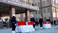 Diyarbakır'da hayatını kaybeden polisler memleketlerine uğurlandı