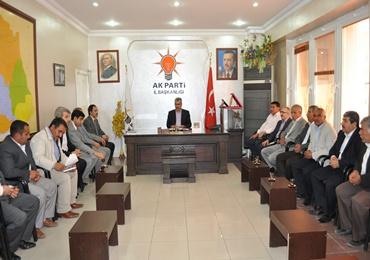 AK Parti başbakanın gelişine hazırlanıyor