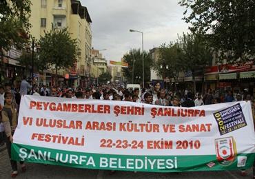 Şanlıurfa festivali başladı