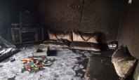 Batman'da bir evde çıkan yangında maddi hasar oluştu