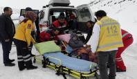 Bingöl'de hastalar UMKE tarafından hastaneye yetiştirildi