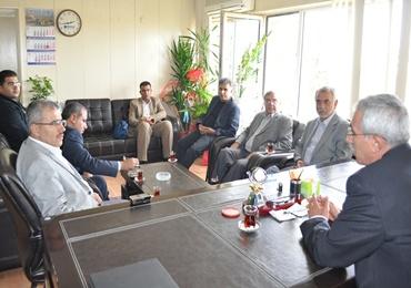 AK Parti'den DEDAŞ'a tebrik ziyareti