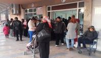 Tarsus'taki hastaneler doldu taştı