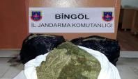 Bingöl'de 120 bin TL değerinde uyuşturucu ele geçirildi