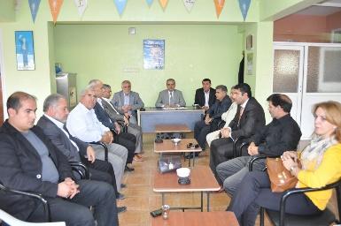 AK Parti Karaköprü Belediye Meclis Üyeleri toplandı
