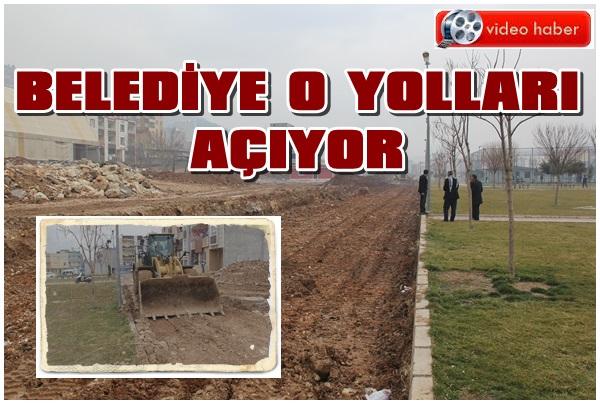 Eyyübiye Belediyesi O Yolları Açıyor
