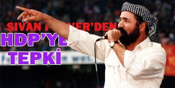 Perwer HDP'ye tepki gösterdi!