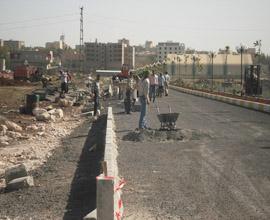Viranşehirde 1. ve 2. Cadde çalışmaları yapılıyor
