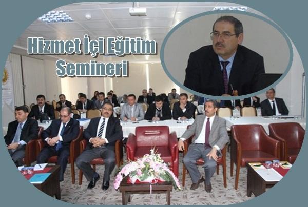 Urfa Orman Bölge müdürlüğü hizmet içi eğitimini tamamladı