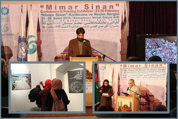 Mimar Sinan Sergisi ve Konferansı Tahran'da yapıldı