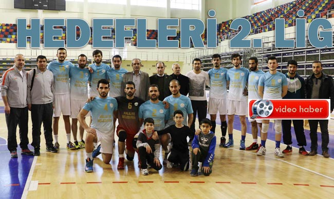 Haliliye Belediyespor'da hedef 2. lig