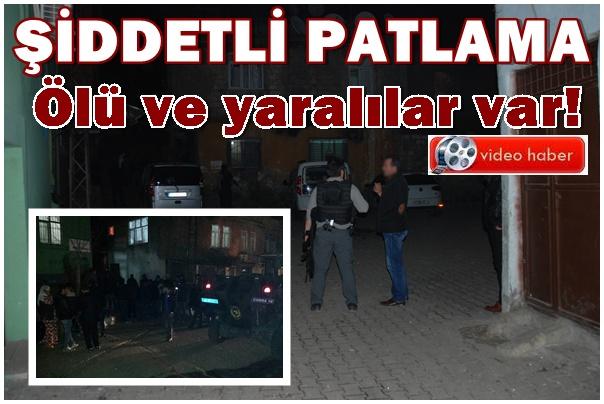 Diyarbakır'da Şiddetli Patlama: patlama yerinden ilk görüntüler