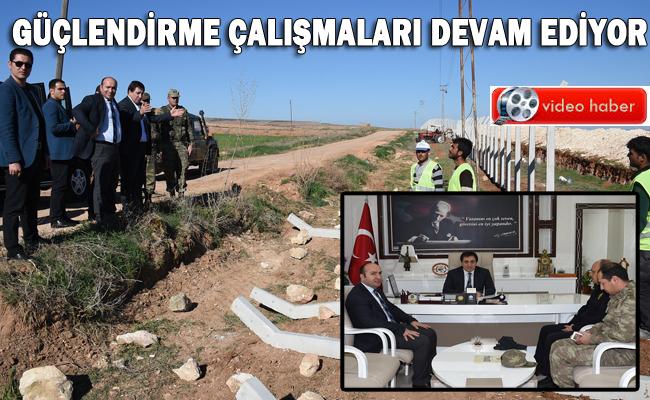 Şanlurfa Suriye Sınırı tel örgülerle kapatılıyor