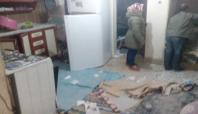 Diyarbakır'daki patlamanın şiddeti çevre evlere yansıdı
