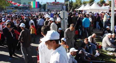 Şanlıurfa'da Başbakan heyecanı