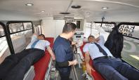 Milli Eğitim personelinden kan bağışı