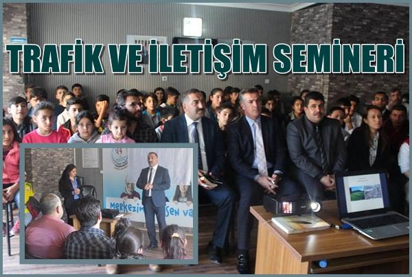 Şanlıurfa'da Gençlere Çevre, Trafik ve iletişim Semineri verildi