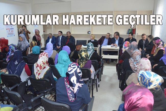 Urfa'da Madde Bağımlıları Komisyonu aileleri bilinçlendiriyor