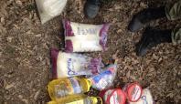 PKK'ya ait yaşam malzemesi bulundu
