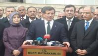 Başbakan Davutoğlu Silopi'de açıklamalarda bulundu