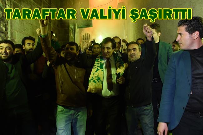 Urfaspor Taraftarı Şanlıurfa Valisine Bakın ne yaptı