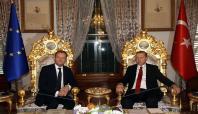 Cumhurbaşkanı Erdoğan AB Konseyi Başkanını ağırladı