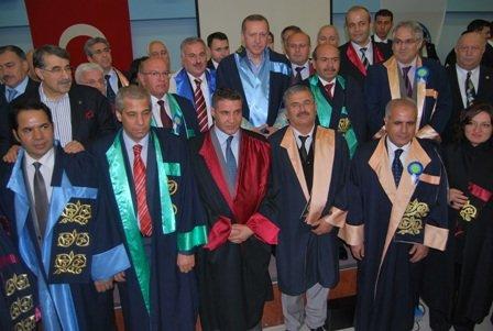 Başbakan Erdoğana Harrandan Fahri Doktora