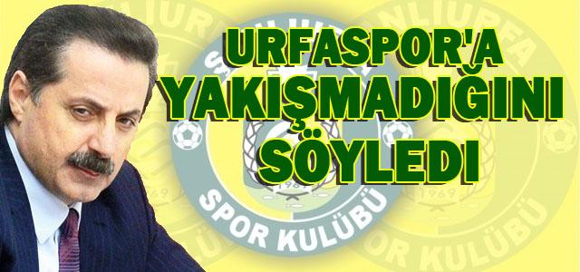 Faruk Çelik'ten Urfaspor Açıklaması...