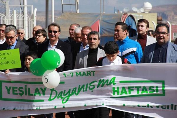 Mardin'de Yeşilay coşkusu