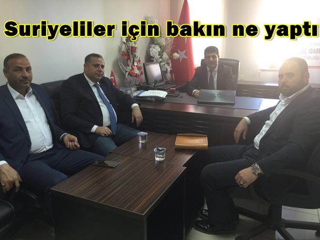 AK Parti Şanlıurfa'daki Suriyeliler için bakın ne yaptı