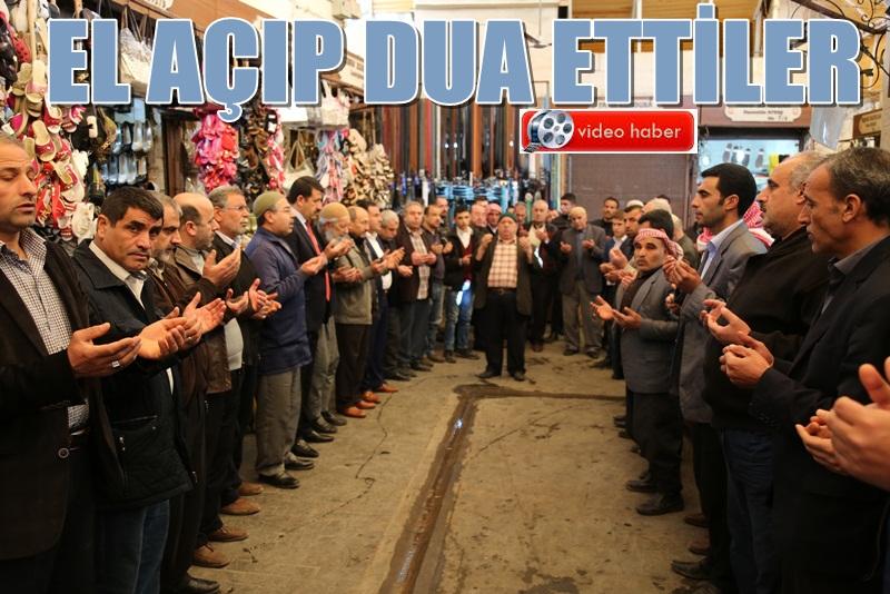 Urfa Esnafı Bereket Duasıyla dükkanlarını açıyor