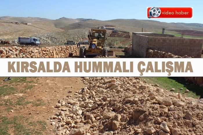 Eyyübiye belediyesi kırsalda çalışmalarını yürütüyor