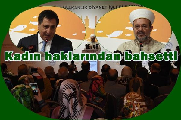 Diyanet İşleri Başkanı Görmez Kur'an Kursu Öğreticileri İstişare Toplantısı Katıldı