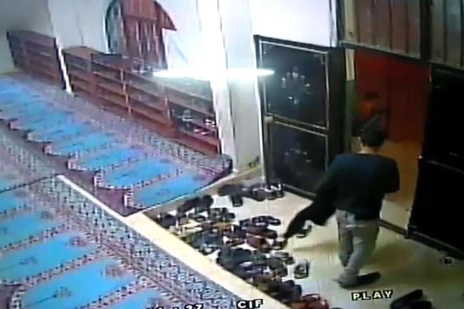 Şanlıurfa'da Ayakkabı hırsızları camiye dadandı