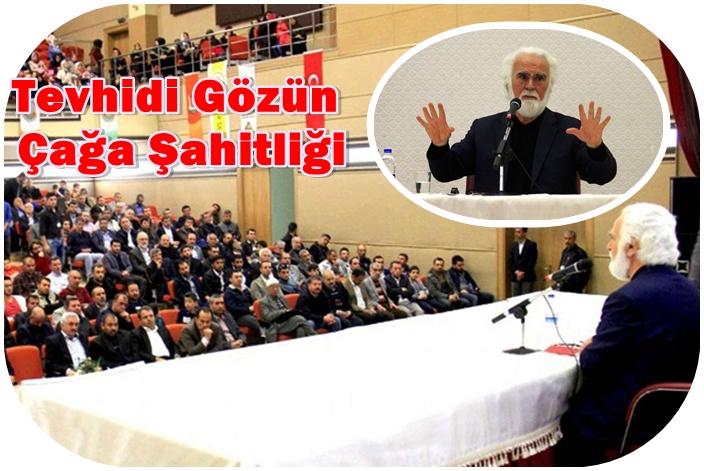 Atasoy Müftüoğlu Urfa'da konuştu: İslami dikkatimizi kaybettik