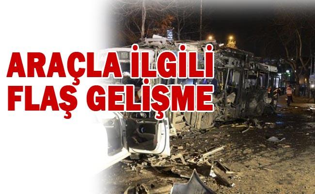 Ankara Patlamasında kullanılan araç Şanlıurfa'da çalınmış