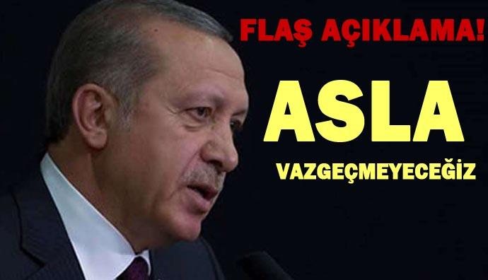 Erdoğan'dan Flaş Ankara patlaması açıklaması