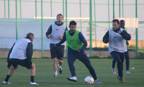 Şanlıurfaspor Balıkesirspor maçı hazırlıklarına başladı