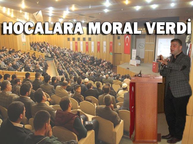 Urfa'da Moral Ve Motivasyon Konferansı düzenlendi