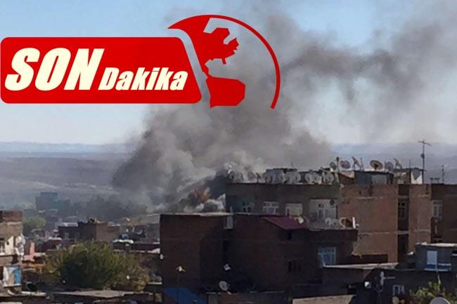 Mardin'in Nusaybin ilçesinde çatışmalar şiddetlendi