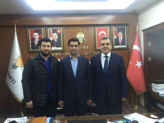AK Parti Haliliye Gençlik Kolları Başkan belli oldu
