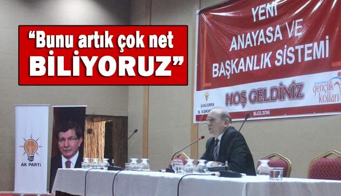 """Burhan Kuzu Urfa'da konuştu: """"PKK'nin içinde tüm dünya devletleri var"""""""