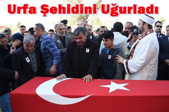 Şehit polis Turgut İnaç Urfa'da son yolculuğuna uğurlandı