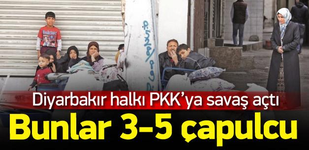 Bağlar ilçesinde PKK ne yapıyor? vatandaş PKK'ya isyan ediyor