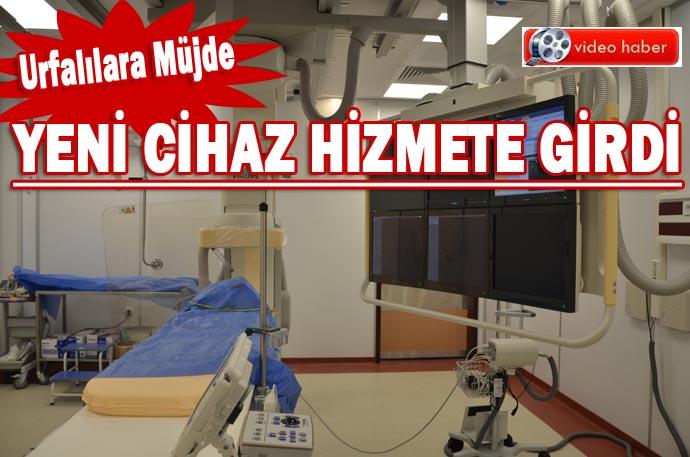Harran Tıp Fakültesi Hastanesine Yeni Anjiyo Cihazı Alındı