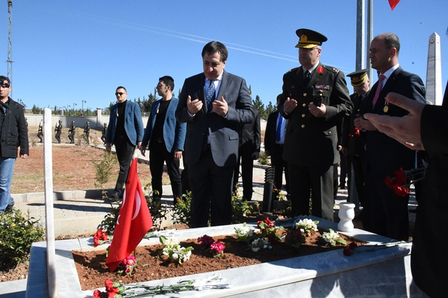 Urfa'da 18 Mart Şehitleri Anma Günü
