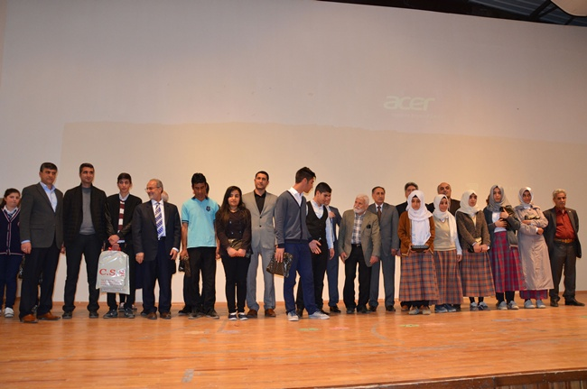 Mehmet Ragıp Karcı şiir yarışması ödül töreni