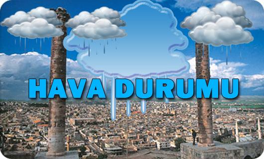Urfa'da yağış bekleniyor, Türkiye Geneli Hava Durumu!